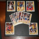 Upper Deck 91-92 NBA All-Rookie Team+(Jordan+Magic) Cards#35-47