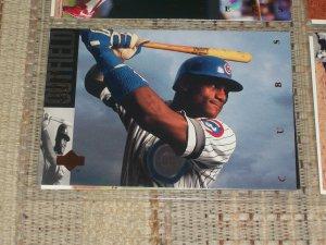 Sammy Sosa 93 Upper Deck baseball card