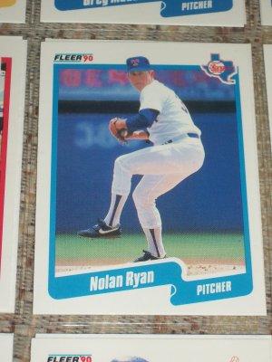 Nolan Ryan 1990 Fleer Baseball Card