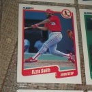 Ozzie Smith 1990 Fleer Baseball Card