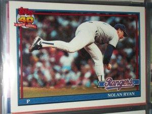 Nolan Ryan 1993 Topps Baseball Card
