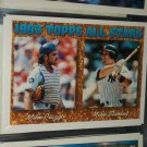 Mike Piazza/Mike Stanley 93 Topps All-Star Baseball Card