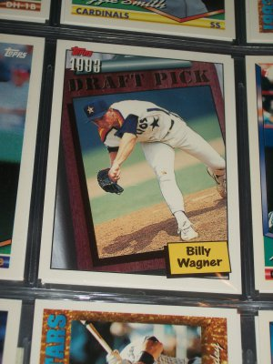 Billy Wagner 94 Topps Baseball Card- 1993 Draft Pick Rookie Card