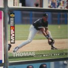 Frank Thomas 1995 Upper Deck Collectors Choice Baseball Card- A.L. MVP
