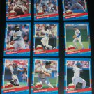 "1991 Donruss Series 1 ""Highlights"" Complete 9 Card Set"