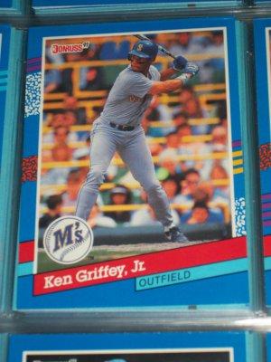 Ken Griffey jr 1991 Donruss baseball card