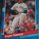 Roger Clemens 1991 Donruss baseball card