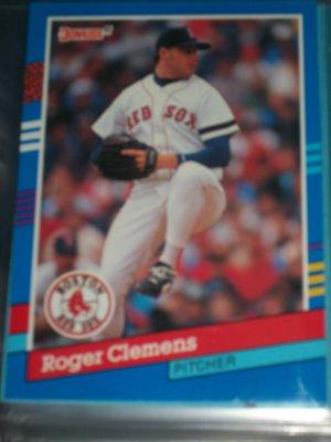 Roger Clemens 1991 Donruss baseball card