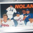 Nolan Ryan 1990 UD Baseball Heroes Insert #18/18- Checklist
