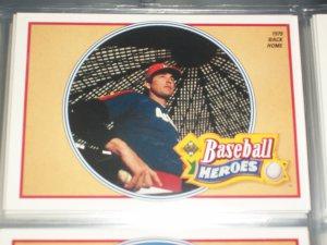 Nolan Ryan 1990 UD Baseball Heroes Insert #13/18- 1979 Back Home