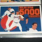 Nolan Ryan 1990 UD Baseball card- RARE 5000TH STRIKEOUT INSERT CARD