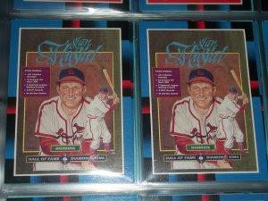 Stan Musial 1988 Donruss Baseball Card- Hall of Fame Diamond King