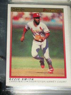 Ozzie Smith 1991 O-Pee-Chee Baseball card
