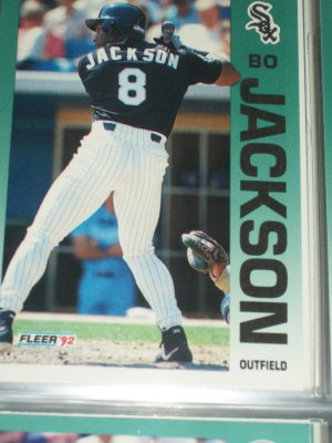 Bo Jackson 1992 Fleer Baseball Card
