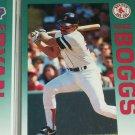 Wade Boggs 92 Fleer Baseball card