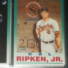 "Cal Ripken jr 92 Fleer rare ""Ironman"" baseball card"