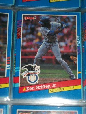 Ken Griffey jr 91 Donruss American League All-Star baseball card