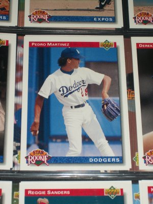 Pedro Martinez Upper Deck 1992- Star Rookie baseball card