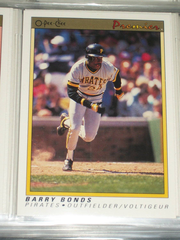 Barry Bonds 91 O-Pee-Chee baseball card