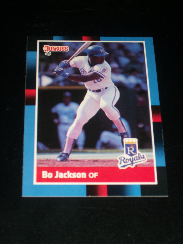 Bo Jackson 88 Donruss Baseball Card