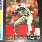 "Nolan Ryan 92 Stadium Club baseball card- Special ""Gold Members Choice Edition"""