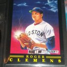 "Roger Clemens 91 Fleer RARE ""Pitching Magic"" Insert baseball card"