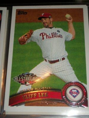 Cliff Lee 2011 Topps All-Star Game baseball card