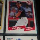 Wade Boggs 90 Fleer Baseball card