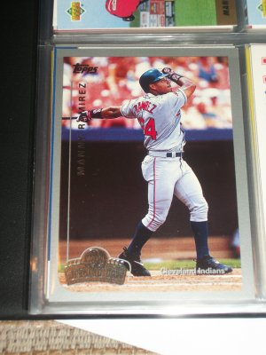 Manny Ramirez 1999 Topps Opening Day baseball card