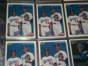 Pedro Martinez 1992 Upper Deck- Bloodlines(Pedro+Ramon)  Rookie Card