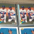 Pedro+Ramon Martinez 93 Fleer Baseball Card-Super Star Special