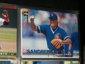 Ryne Sandberg 95 UD Collectors Choice baseball card