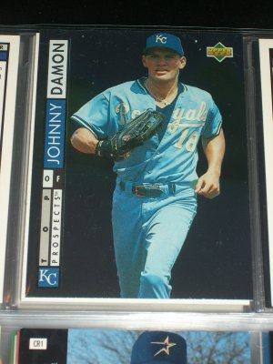 Johnny Damon 94 UD Baseball Top Prospects- Rookie Card