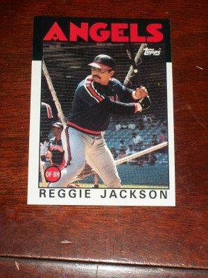 Reggie Jackson 1984 Topps Baseball card