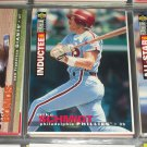 Mike Schmidt 95 UD Collectors Choice Baseball Card- Hall of Fame Inductee