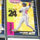 "Fred McGriff 95 UD- You Make the Call- Silver ""You Make the Call"" baseball card"