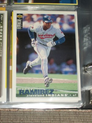 Manny Ramirez 95 UD Collectors Choice baseball card