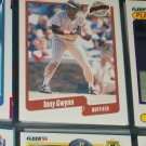 Tony Gwynn 90 Fleer baseball card