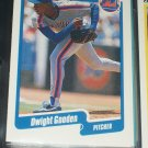 Dwight Gooden 1990 Fleer Baseball card