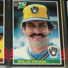 Rollie Fingers 1985 Leaf baseball card