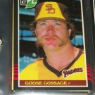 Goose Gossage 85 Leaf baseball card
