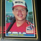 Carlton Fisk 85 Leaf baseball card