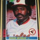 Eddie Murray 85 Leaf baseball card
