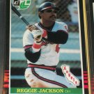Reggie Jackson 85 Leaf baseball card