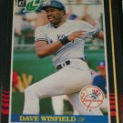 Dave Winfield 85 Leaf baseball card