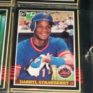 Darryl Strawberry 85 leaf baseball card