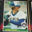 Robin Yount 85 leaf baseball card