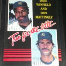 """RARE Winfield+Mattingly 85 Leaf """"Two for the Title"""" baseball card"""