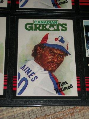 "RARE 85 Leaf ""Canadian Greats"" Tim Raines Baseball card"