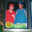 "Rare 86 Fleer ""Super Star Special"" Rose+Gooden Baseball Card"